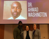 Dr. Ahmad, Dr. Hooper, and Dr. Waldron